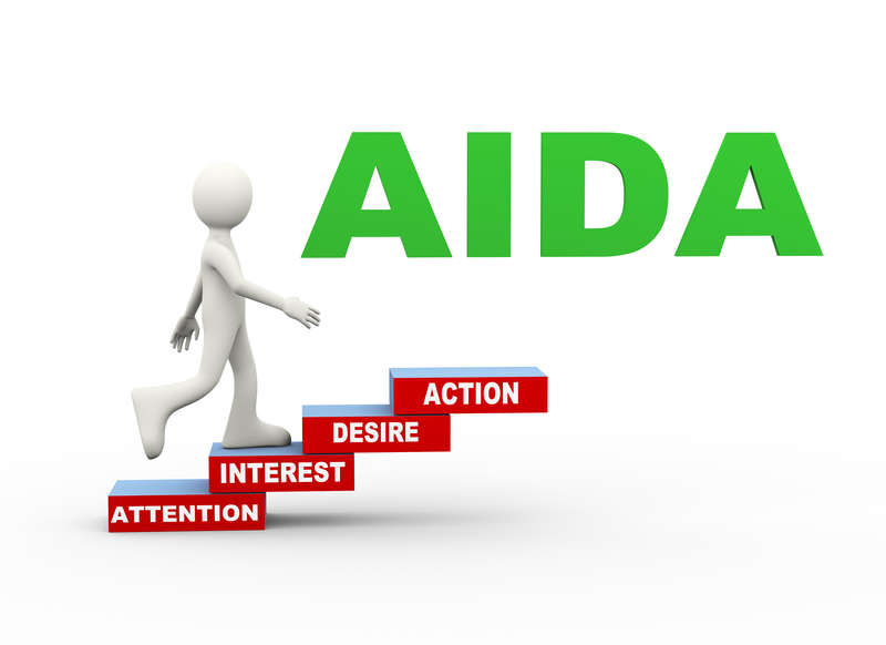 AIDA untuk copywriting penjualan