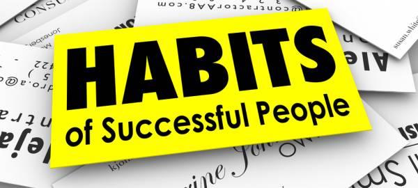 Kebiasaan Orang Sukses